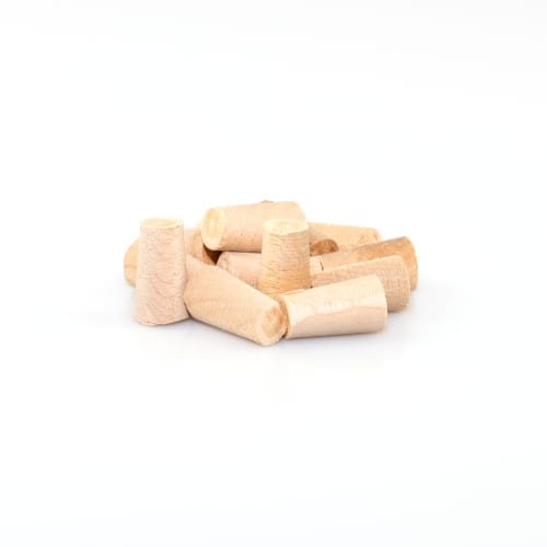 Cross Grain Maple Tapered Plugs - Box of 100
