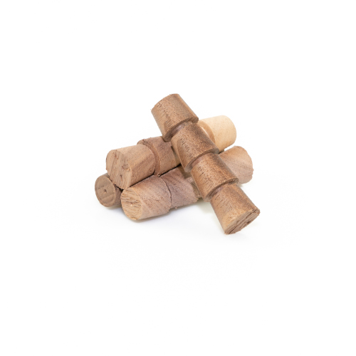Walnut Tapered Plugs - Box of 100
