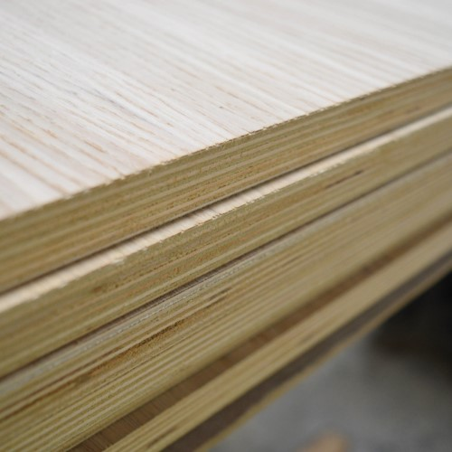 Oak Veneered Birch Plywood – A/B - 2440 x 1220 x 12mm