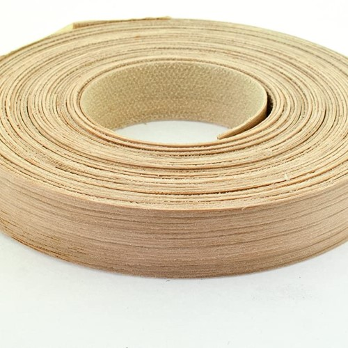 Oak Veneered MDF Edging 22mm - 50m roll