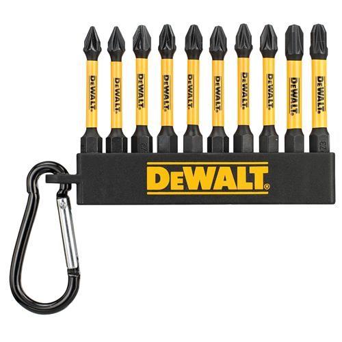 Dewalt Screwdriver Bit Sets with Clip - Set of 10