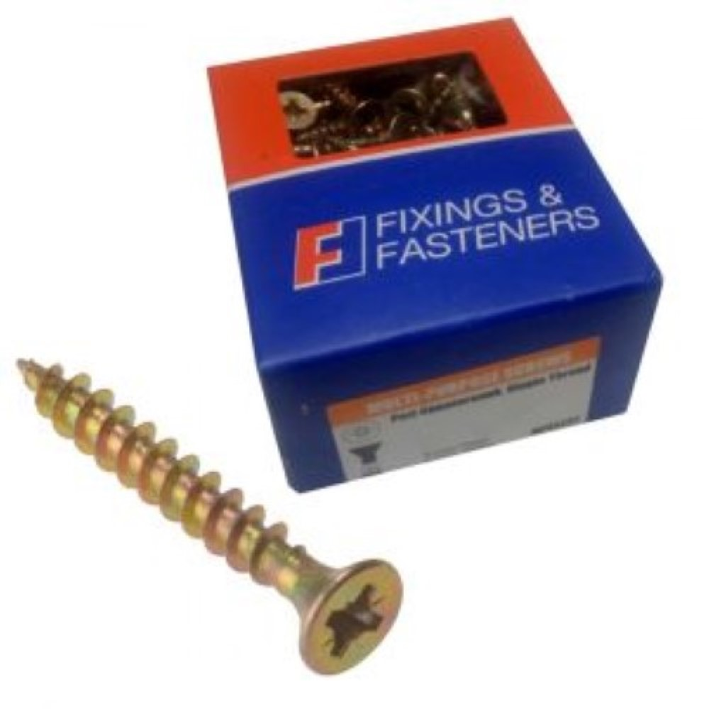 Trade Wood Screws - 4.0 x 25mm - Box of 200