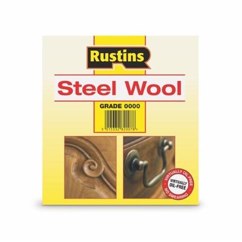 Rustins Steel Wool - Grade 0000 - 200g