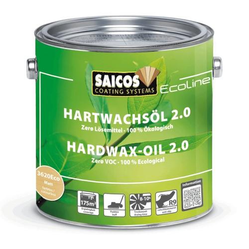 Saicos Ecoline Hardwax Oil 2.0 - Satin Matt (3620Eco)