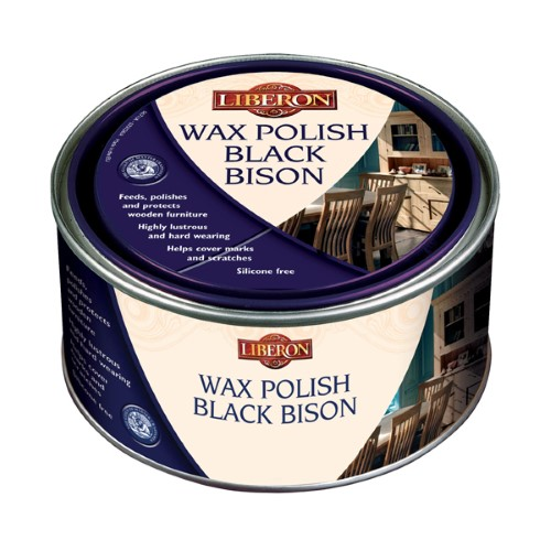 Liberon Black Bison Paste Wax 500ml